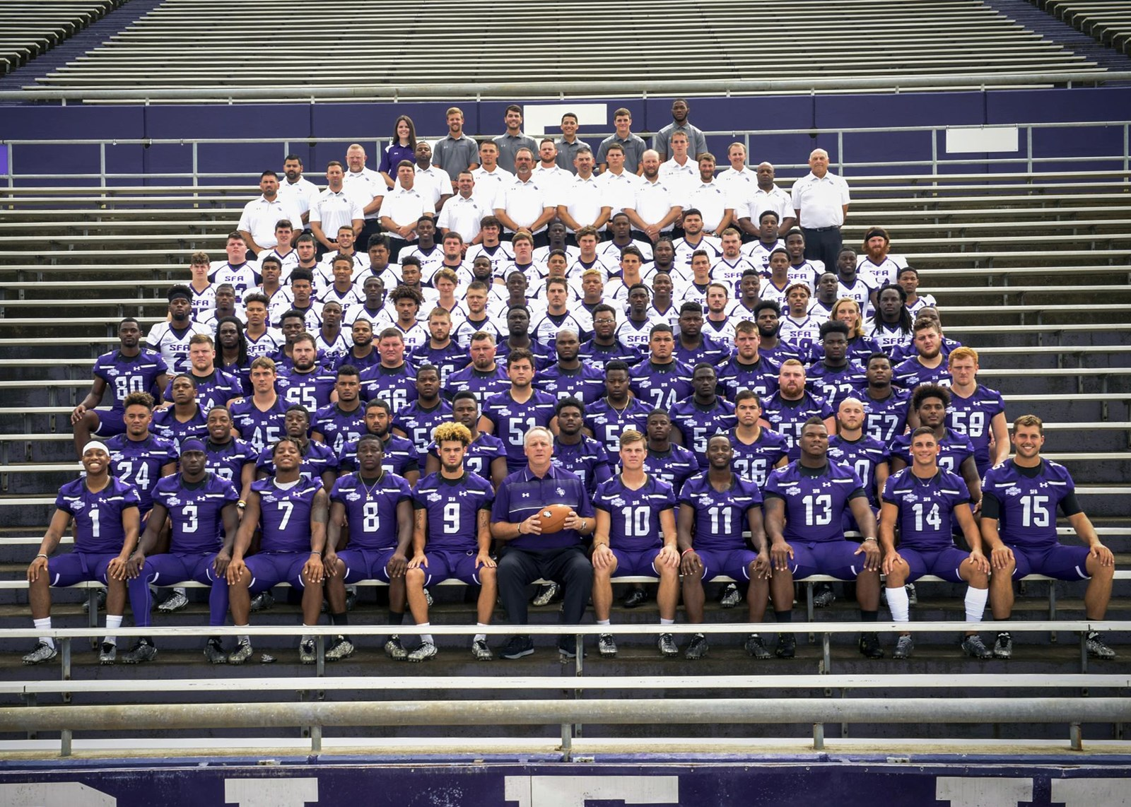 2017 Football Roster Stephen F Austin State University Athletics