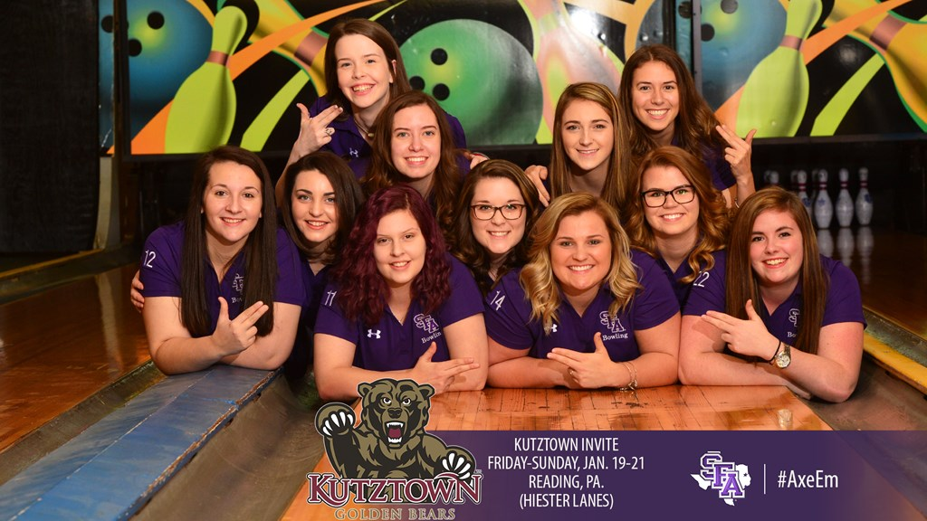 Kutztown Invite Awaits Ladyjack Bowling Over The Weekend Stephen F Austin State University Athletics