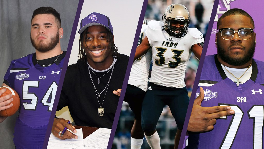 online retailer 8aa2e c3645 Football Adds Four More to 2018 Signing Class - Stephen F ...