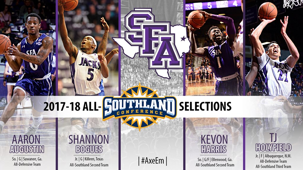 Four 'Jacks Claim Various All-Southland Conference Awards - Stephen