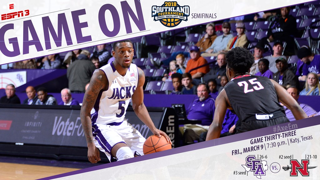 SFA Continue Southland Tourney Run Friday Night Against