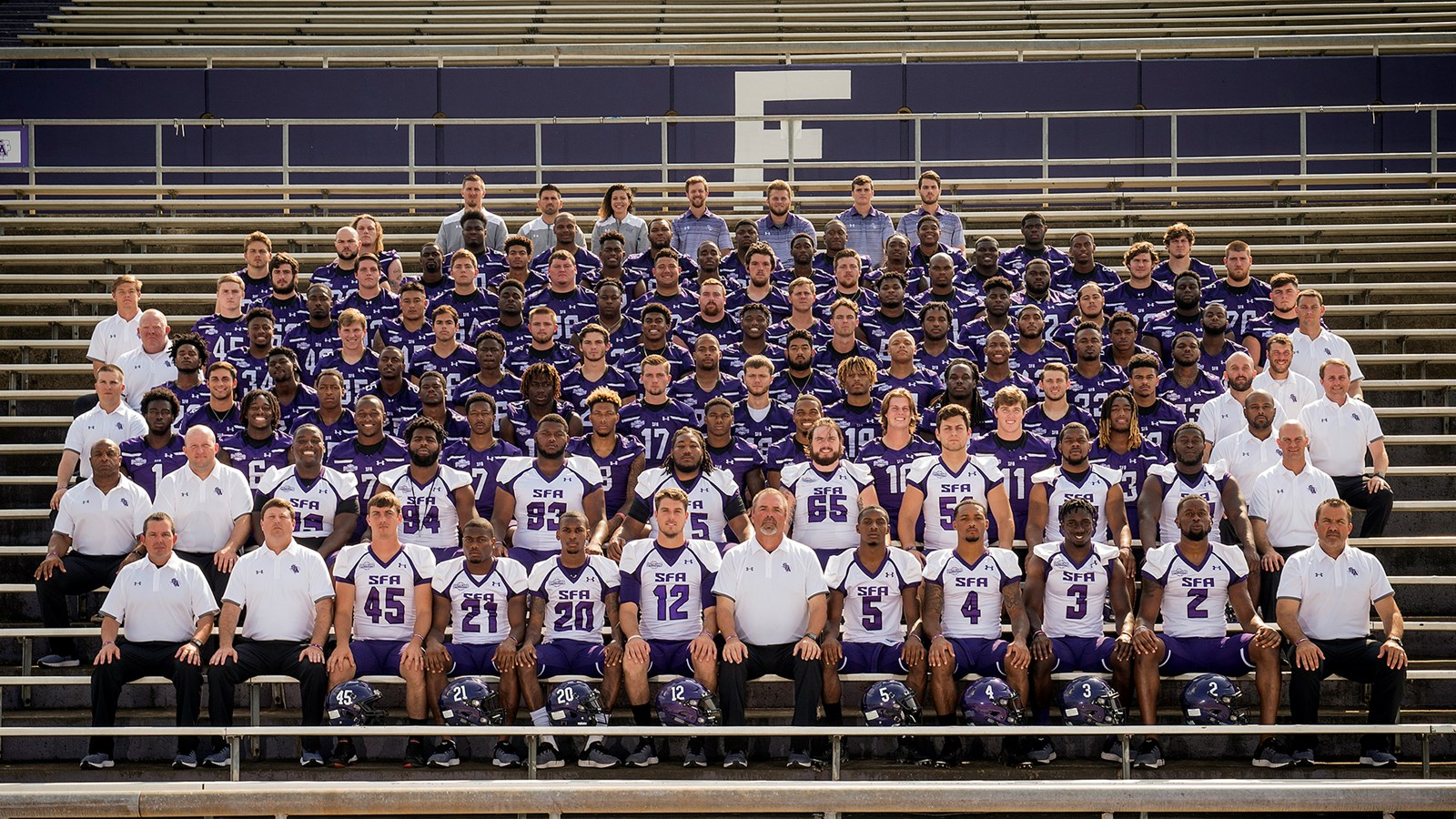 2018 Football Roster Stephen F Austin State University Athletics